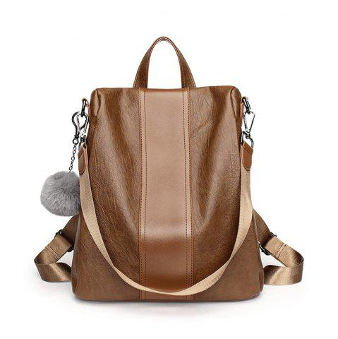 Outfit WomenS Pu Leather Backpack Purse Ladies Casual Waterproof Shoulder Bag