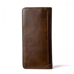 DANJUE Men'S Wallets Genuin Phone Wallet -