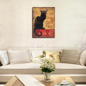 QiaoJiaHuaYuan  No Frame Canvas Living Room Sofa Background Bedroom Adornment art Deco Animal Cat -