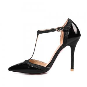 Women's High Heel Sandals Pointed Toe Thin Heel Solid Color Personalized Elegant Shoes -