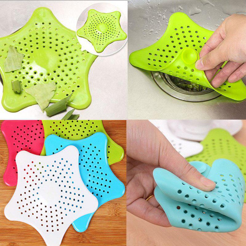 2018 Jungen Creative Home Living Floor Drain Hair Stopper Bath Catcher Sink Strainer Sewer Filter Shower Cover Kitchen