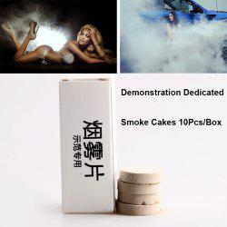 10PCS Smoke Cake White Smoke Effect Smoke Bomb Photography Aids -