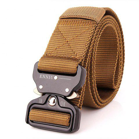 New Outdoor Safety Belt Buckle Belt Training Speed Dry Pure Nylon Belt