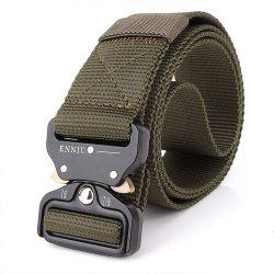 Outdoor Safety Belt Buckle Belt Training Speed Dry Pure Nylon Belt -