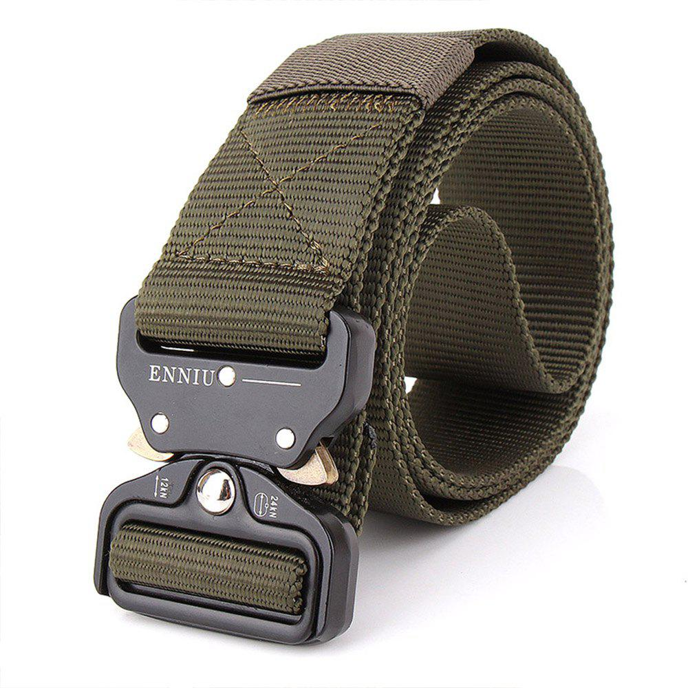 Store Outdoor Safety Belt Buckle Belt Training Speed Dry Pure Nylon Belt
