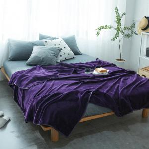 Thin Quilt air Conditioning Bed Nap Single Double Thickening Blanket -