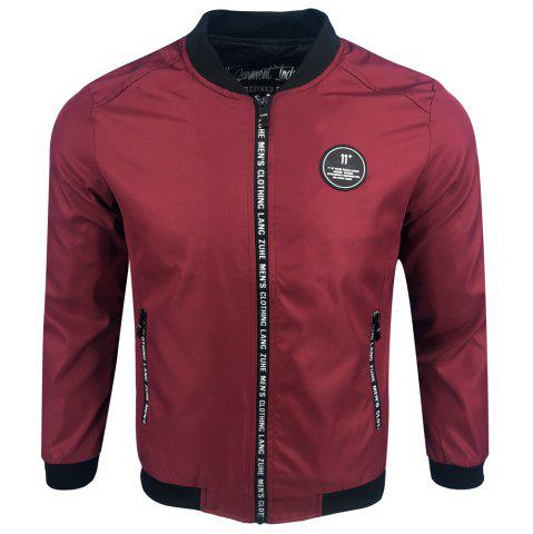 Buy Spring and Autumn Fashion Printed Casual Street Tide Baseball Jersey Jacket