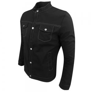 Spring and Autumn Fashion Leisure Stand Collar Tide Jacket -