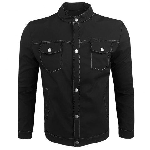 Best Spring and Autumn Fashion Leisure Stand Collar Tide Jacket