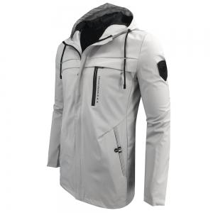 Autumn and Winter Hooded Fashion Casual Windproof Long Jacket -