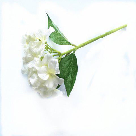 Shops 5 PCS Simulation Flower Artificial Flower Single Branch Christmas Wedding Decoration Table Accessories
