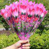 LED Flashing Rose Flower Wedding Anniversary Party Decorations Hair Glow Gift -