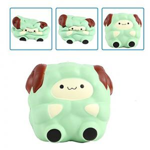 Squishies Kawaii Blue Lamb Cream Scented Slow Rising Decompression Squeeze Toys Children Simulation Cute Sheep Style -