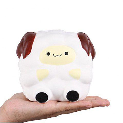 Hot Squishies Kawaii Blue Lamb Cream Scented Slow Rising Decompression Squeeze Toys Children Simulation Cute Sheep Style