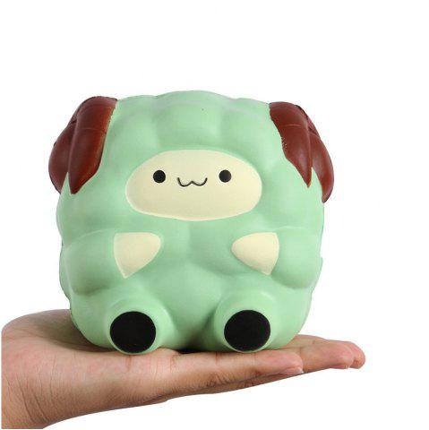 Online Squishies Kawaii Blue Lamb Cream Scented Slow Rising Decompression Squeeze Toys Children Simulation Cute Sheep Style