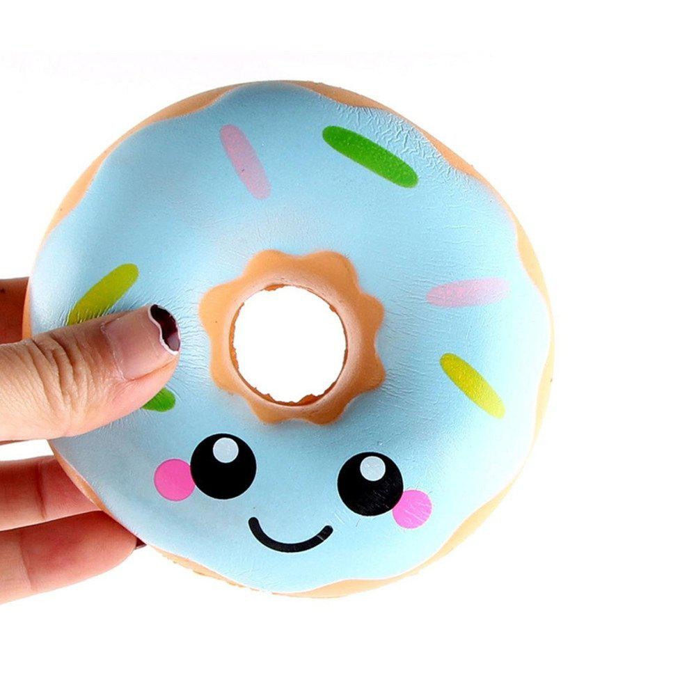 Fashion Squeeze Stretch Squishy Donuts Scented Slow Rising Gift Toy for Kids
