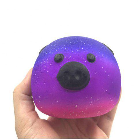 New High Quality Squeeze Stretch Squishy  Cartoon Stars Pig Fruit Scented Slow Rising Gift Toy for Kids