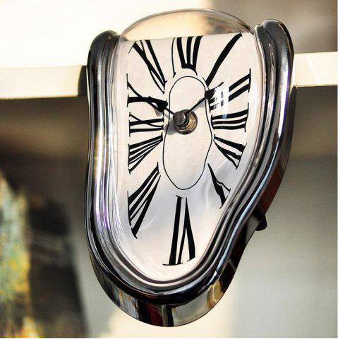 Outfit Melting Clock Table Melting Time Flow Desk Clock
