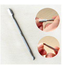 Double Sided Finger Dead Skin Push Nail Cuticle Pusher -