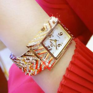 Gold Dial Women'S Watch Top Fashion Luxury Brand New Ladies Quartz Women'S Steel Wrist Watch -