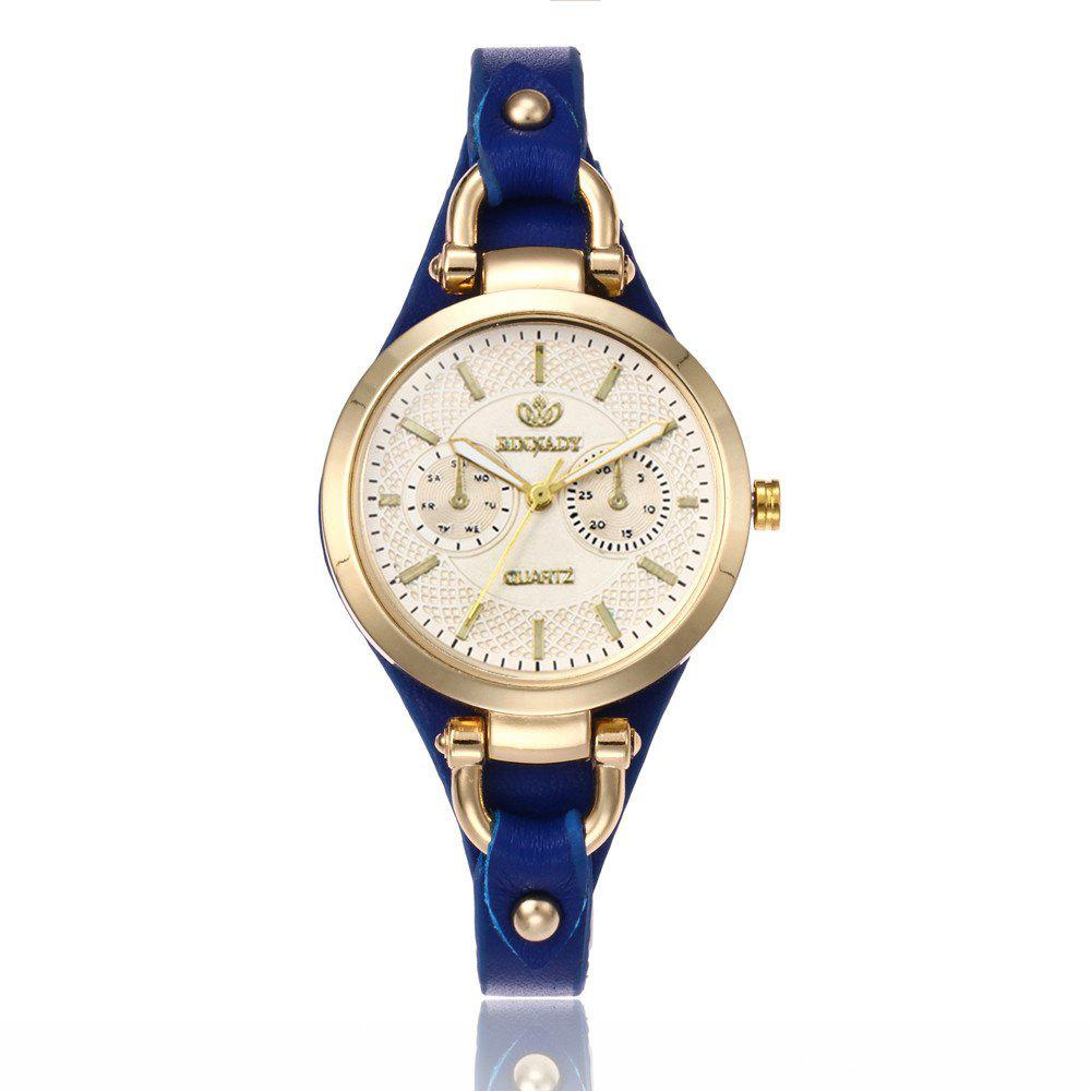 Unique Women  Fashionable Thin Band Elegant All Match Classy Watch