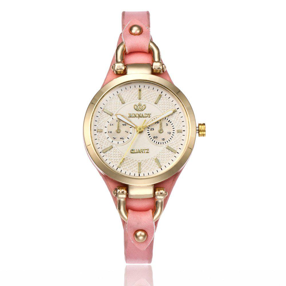 New Women  Fashionable Thin Band Elegant All Match Classy Watch