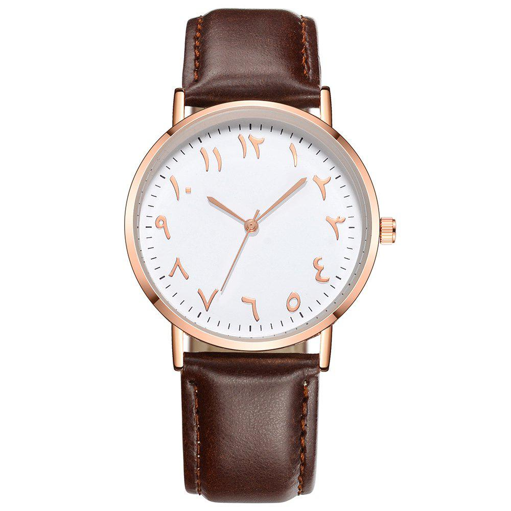 Cheap Fashion Arabic Numbers Luxury Ultrathin Women Quartz Watch