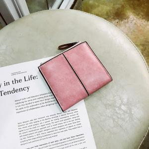 Short Section of The New Short Paragraph Multi-Function High-Capacity Coin Purse -