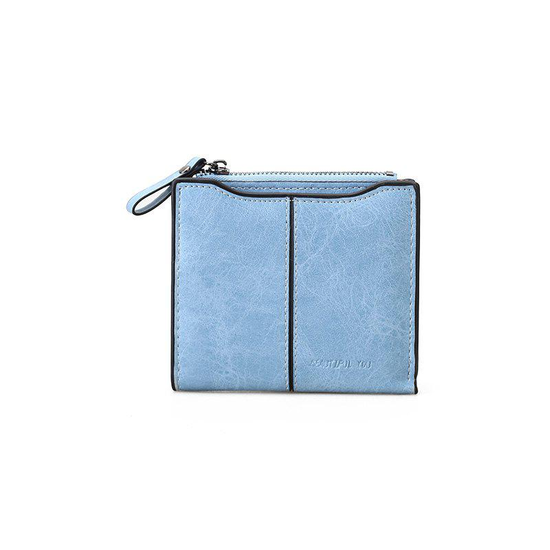 Unique Short Section of The New Short Paragraph Multi-Function High-Capacity Coin Purse