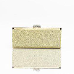 Women Bags pu Evening Bag for Event Party Silver Golden -
