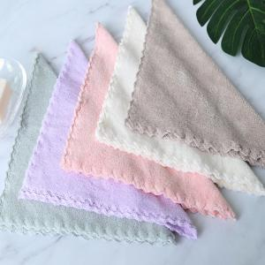 4 Pcs Face Towels Thickened Soft Water Absorption Baby Face Towels -