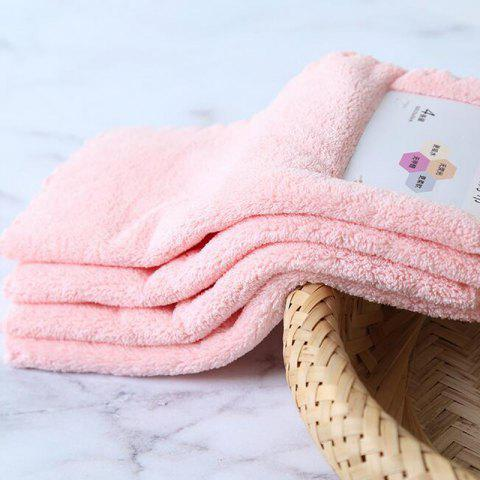 Chic 4 Pcs Face Towels Thickened Soft Water Absorption Baby Face Towels