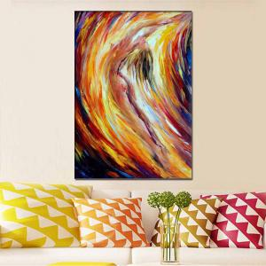 Hand Painted Abstract Nude Woman Palette Knife Oil Painting on Canvas Living Room Home Decor -