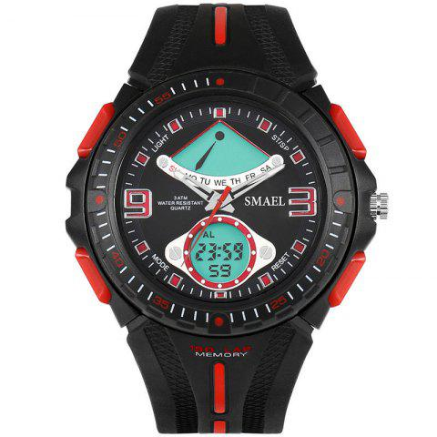 Chic SMAEL 1315 Fashion Multi-function Electronic Sport LED Watch