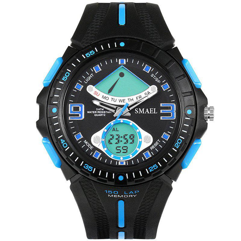 Fancy SMAEL 1315 Fashion Multi-function Electronic Sport LED Watch
