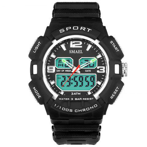 Discount SMAEL 1343 Fashion Multi-function Waterproof LED Electronic Watch Outdoor Sport
