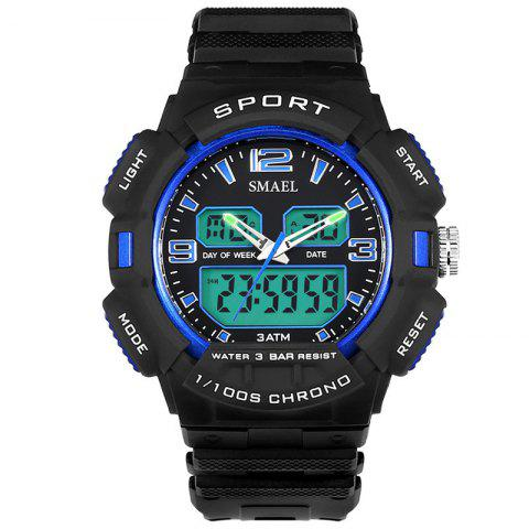 Shop SMAEL 1343 Fashion Multi-function Waterproof LED Electronic Watch Outdoor Sport