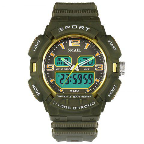 Latest SMAEL 1343 Fashion Multi-function Waterproof LED Electronic Watch Outdoor Sport
