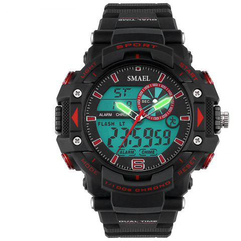 Shop SMAEL SL1379 Multi-Function Waterproof Sport LED Watch