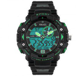 SMAEL SL1379 Multi-Function Waterproof Sport LED Watch -