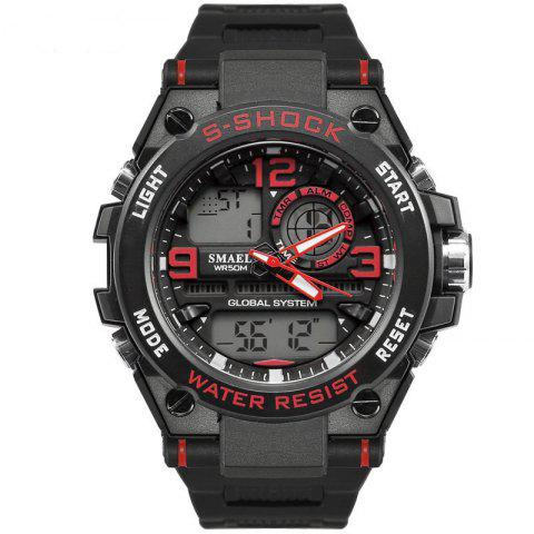 Fancy SMAEL 1603 Multi-Function Electronic Waterproof Sport LED Watch