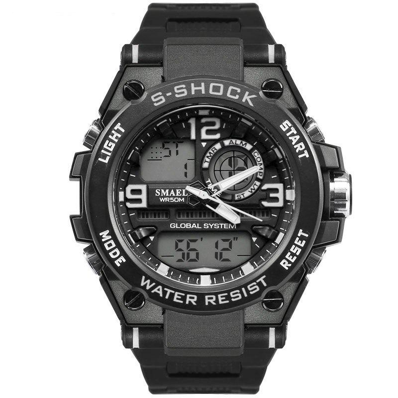 Unique SMAEL 1603 Multi-Function Electronic Waterproof Sport LED Watch