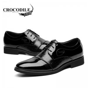 CROCODILE New Men Leisure Business Leather Shoes WFX00372065 -