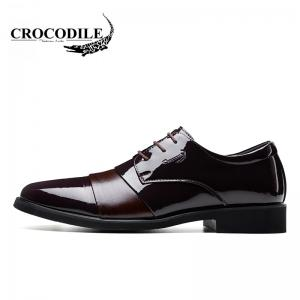 CROCODILE New Men Leisure Business Leather Shoes WFX00372066 -