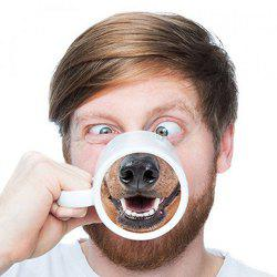Funny Dog Nose Ceramic Mug -