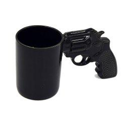 Creative Revolver Milk Coffee Mug -
