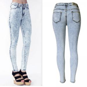 2018 New High-Waisted Snowflake Trousers and Pencil Jeans -