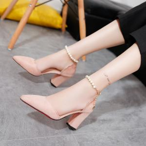 Pearl Sharp and Sexy Heel Sandals -