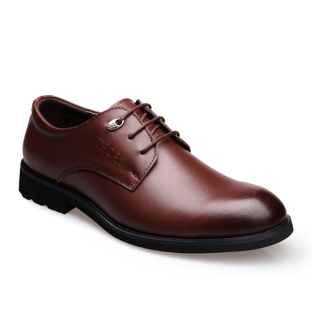 Cheap Leather Business and Leisure Shoes