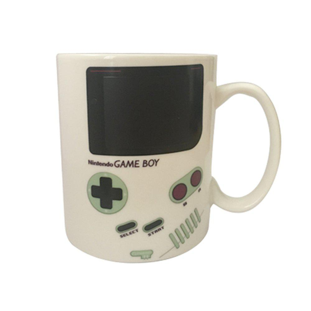 Heat Sensitive Nintendo Game Boy Ceramic Mug Home Office White Porcelain Milk Beer Coffee Mug Color Changing